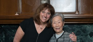 Dr. Dianne Miller with Ms. Margaret Chew.